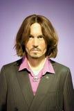 Johnny Depp Wax Figure Stockbilder