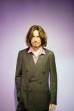 Johnny Depp Wax Figure Lizenzfreie Stockfotografie