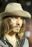 Johnny depp wax figure Stock Photo