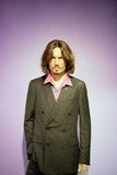 Johnny Depp Wax Figure. John Christopher Johnny Depp II is an American actor, producer, and musician. Johnny Depp wax figure is located in Madame Tussaud Royalty Free Stock Photography