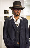 Johnny Depp. Wax figure in Madame Tussauds museum Royalty Free Stock Photos