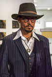 Johnny Depp. Wax figure in Madame Tussauds museum Stock Photography