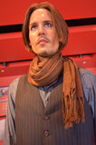 Johnny Depp wax figure Royalty Free Stock Images