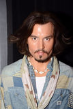 Johnny Depp. Wax statue of Johnny Depp, Hollywood celebrity and actor, image taken at the Madame Tussauds museum at Las Vegas Royalty Free Stock Images