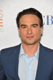 Johnny Galecki Stockbild