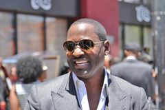 Johnny Gill. At  Walk of Fame ceremony for Luther Royalty Free Stock Photography