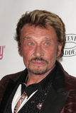 Johnny Hallyday Fotografia de Stock