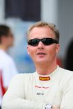 Johnny Herbert. At Speedcar, Dubai Stock Photo
