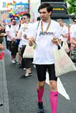 Johnny.ie alla parata il 26 giugno 20 di orgoglio di Dublino LGBT Immagini Stock Libere da Diritti