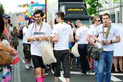 Johnny.ie at Dublin LGBT Pride Parade 26th June 20 Royalty Free Stock Image