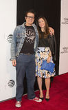 Johnny Knoxville and Naomi Nelson Royalty Free Stock Photos