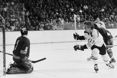 Johnny McKenzie, Boston Bruins. Stock Image