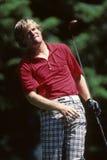 Johnny Miller. Golf star and PGA commentator Johnny Miller.   Image taken from color slide Stock Photos