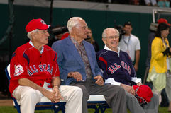 Johnny Pesky, Bobby Doerr, Dom DiMaggio Royalty Free Stock Photography