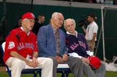 Johnny Pesky, Bobby Doerr, Dom DiMaggio Royalty Free Stock Photos