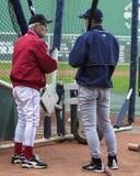 Johnny Pesky e Ichiro Fotos de Stock Royalty Free