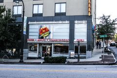 Johnny Podskakuje ` s restaurację w Atlanta, Gruzja Zdjęcie Stock