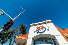 Johnny rakiet restauraci przodu fasada Fotografia Royalty Free