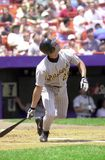 Johnny VanderWal. OF of Pittsburgh Pirates. Image from color slide Stock Photo