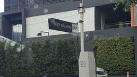Johnny Walker- Keep Walking Out stock foto's