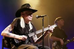 Johnny Winter Stock Images