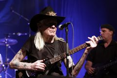 Johnny Winter Royalty Free Stock Photos