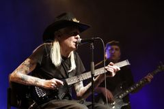 Johnny Winter Royalty Free Stock Image