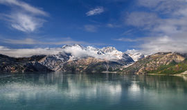 Johns Hopkins Glacier in Alaska Stock Photography