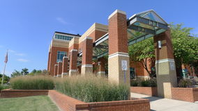 Johnson City - bibliothèque publique images libres de droits