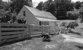 Johnson Farm aux crêtes de la loutre Photo stock