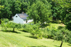 Johnson Farm at the Peaks of Otter Royalty Free Stock Photography