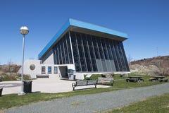 Johnson Geo Centre, ein Untertagewissenschaftsmuseum in St Johns lizenzfreie stockbilder