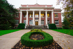 Johnson Hall Administrative Building University of Oregon Royalty Free Stock Photo