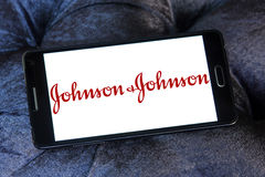 Johnson & Johnson logo obraz royalty free