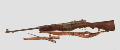 Johnson Model 1941 Rifle Stock Image