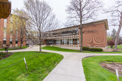 Johnson Science Center at Lake Forest College Royalty Free Stock Photos