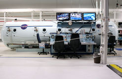 Johnson Space Center NBL Royaltyfria Bilder