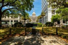 Johnson Square Savannah Stock Photography