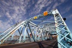 Johnson Street Bridge. On the Inner Harbour in Victoria British Columbia Royalty Free Stock Photography