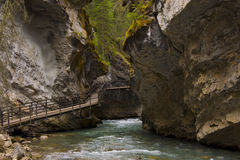 Johnston Canyon Royalty Free Stock Images