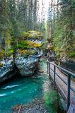 Johnston canyon Stock Photos