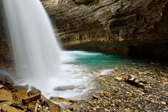 Johnston Canyon Stock Foto