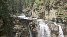 Johnston Canyon Lizenzfreie Stockbilder
