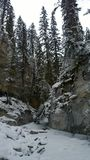 Johnston Canyon Photo stock