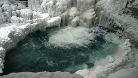 Johnston Canyon Stockbilder