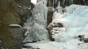 Johnston Canyon Image stock