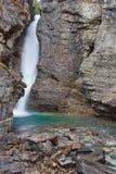Johnston Canyon Falls Stock Image