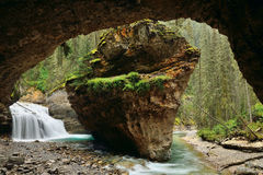 Johnston Canyon Stock Photography