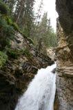 Johnston Canyon Waterfalls Royalty Free Stock Images