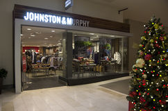 Johnston & Murphy fashion store royalty free stock photo